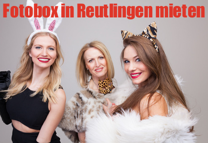 Photobooth mieten in Reutlingen